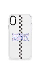 Casetify Totally Chill Iphone Case Clear Blue Pink