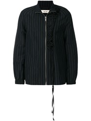 Damir Doma Jokull Striped Jacket Blue