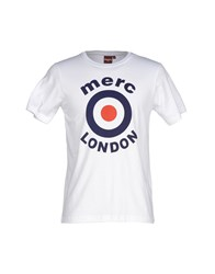 Merc Topwear T Shirts Men White