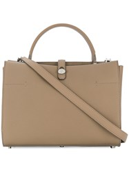 Loro Piana Soft Cluisee Bag Nude And Neutrals