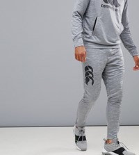 Canterbury Of New Zealand Vapodri Tapered Stretch Pants In Grey Exclusive To Asos