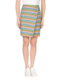 Boy By Band Of Outsiders Skirts Knee Length Skirts Women Azure