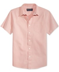 American Rag Men's Barry Cotton Shirt Only At Macy's Pink Tide