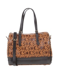 Ken Scott Handbags Tan