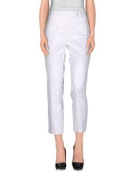Flavio Castellani Casual Pants White