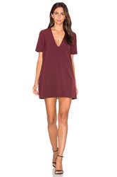 Vivian Chan Bardo Dress Wine
