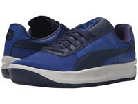 Puma Gv Special Geometric Surf The Web Peacoat Glacier Gray Men's Tennis Shoes Blue