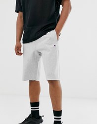 Champion Reverse Weave Long Shorts In Grey