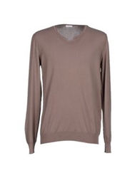 Gold Case By Rocco Fraioli Sweaters Light Brown