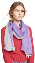 Rebecca Minkoff Dyed Oblong Scarf Purple