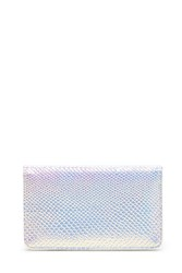 Forever 21 Holographic Faux Leather Wallet