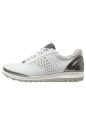 Ecco Biom Hybrid Golf Shoes White Buffed Silver