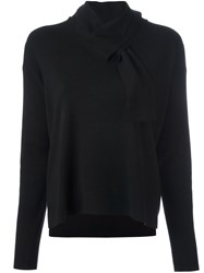 Steffen Schraut Collar Detail Jumper Black