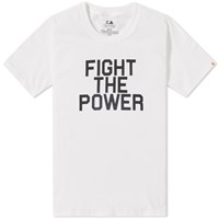 Head Porter Plus Fight The Power Tee White