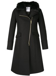 Loveless Off Centre Zipped Coat 60