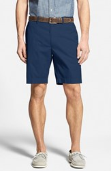 Men's Bobby Jones Stretch Cotton Flat Front Shorts Navy