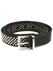 Zadig And Voltaire 'Dakota' Belt Black