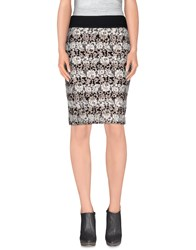 Noshua Skirts Knee Length Skirts Women Black