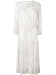Etoile Isabel Marant A Toile 'Savory' Dress White