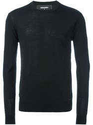 Dsquared2 Crew Neck Jumper Black