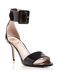 Moschino Cheap And Chic Moschino Cheap And Chic Open Toe Ankle Strap Sandals Buckle High Heel
