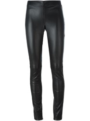 Joseph Panelled Leggings Black