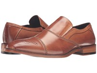Stacy Adams Brecklin Cap Toe Slip On Tan Men's Slip On Shoes