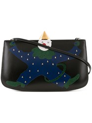 Hermes Vintage Sac A Malice Shoulder Bag Black