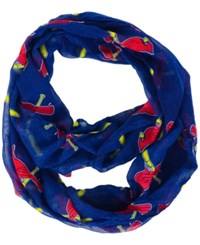 Forever Collectibles St. Louis Cardinals All Over Logo Infinity Wrap Scarf Navy Red