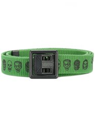 Hysteric Glamour The Cramps Buckled Belt Green