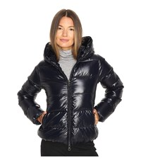 Duvetica Thiacinque Quilted Down Jacket Blue Navy Women's Coat