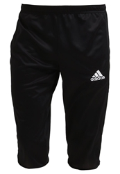 Adidas Performance Core 15 3 4 Sports Trousers Black White