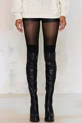 Nasty Gal Secret Socks Tights
