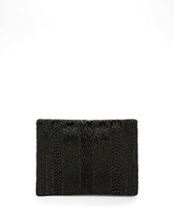 Mary Frances Beaded Crossbody Bag Black