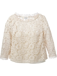 Alice By Temperley Alice By Temperley D14cer0d1705 Oyster Cotton Nude And Neutrals