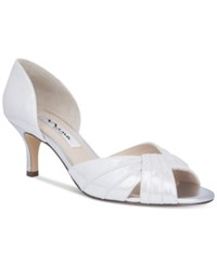 Nina Cadine Evening Sandals Women's Shoes Silver