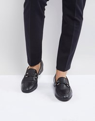 House Of Hounds Bar Loafers In Black
