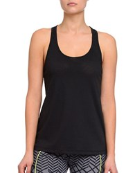 2Xist Crisscross Burnout Tank Top Black