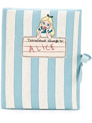 Olympia Le Tan 'Notebook Alice' Clutch Blue