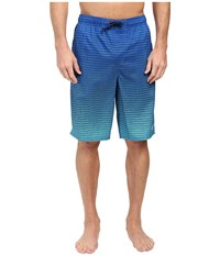 Nike Continuum 11 Volley Shorts Hyper Cobalt Men's Swimwear Black