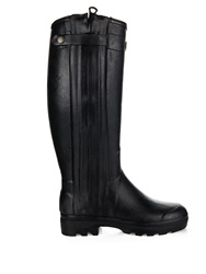 Le Chameau Chasseur Rubber And Leather Boots