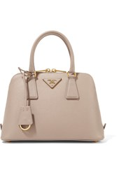 Prada Promenade Textured Leather Tote Blush