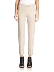 Peserico Stretch Pants Black Beige