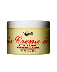 Kiehl's Since 1851 Creme De Corps Soy Milk And Honey Whipped Body Butter 8.0 Oz.