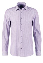 Olymp Level 5 Body Fit Shirt Aubergine Purple