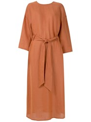 Andrea Marques Belted Relaxed Fit Dress 60