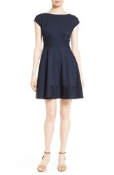 Kate Spade Women's New York Ponte Fiorella Fit And Flare Dress
