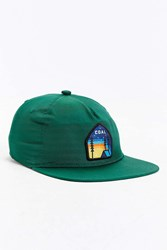 Coal X Uo The Summit Snapback Hat Green