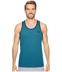Adidas Ultimate Tank Top Mystery Green Men's Sleeveless