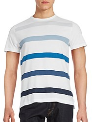 French Connection Trident Striped Tee Blue Multicolor